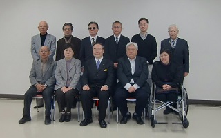 「わくわくトーク」にて徳島県知事・飯泉嘉門さんと(平成27年12月)